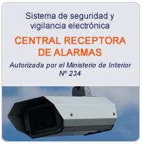 Sistema de Seguridad y Vigilancia Electronica. Autorización por el Ministerio de Interior