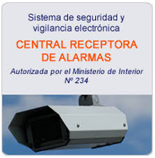 Central Receptora de Alarmas Tecalsa