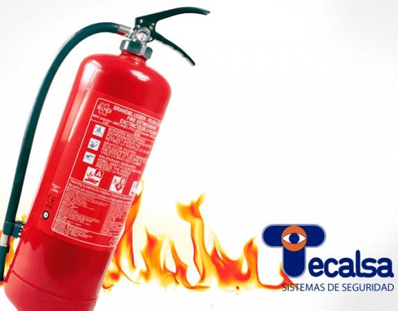 extintor incendios