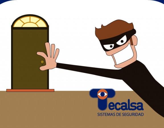 robo forzado hogar