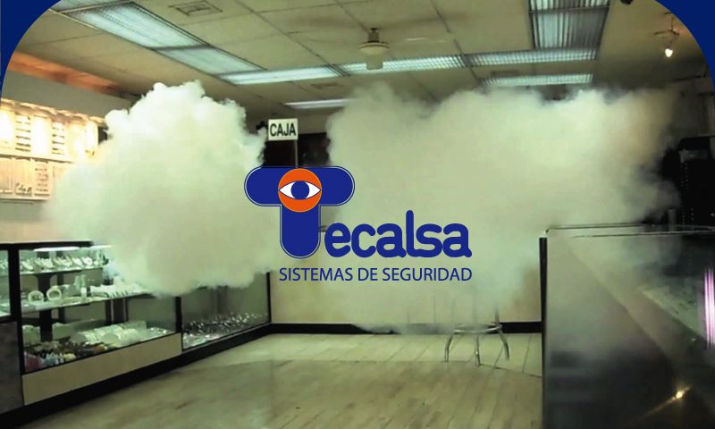 generador niebla seguridad Tecalsa