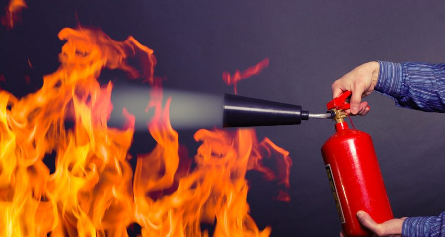 prevención protección contra incendios Zaragoza