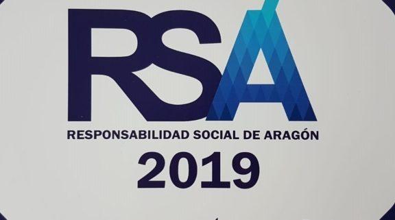 sello responsabilidad social empresarial TECALSA Zaragoza