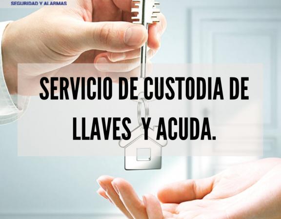 SERVICIO DE ACUDA CON CUSTODIA DE LLAVES